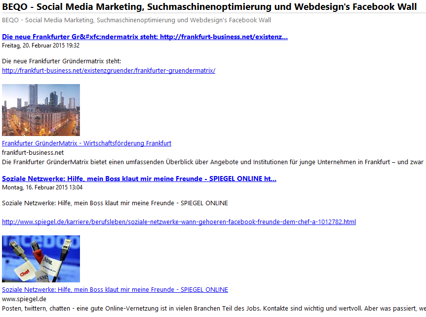 rss feed erstellen wordpress